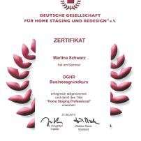 Zertifikat der DGHR